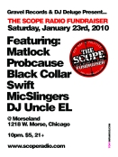 The Scope Fundraiser Saturday Jan. 23rd @ Morseland Cafe