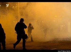 Oakland police turn violent against peaceful protests